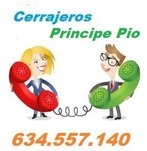 Telefono de la empresa cerrajeros Principe Pio